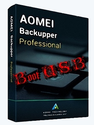 AOMEI Backupper Professional v3.2 - BootUSB (x86-x64) (2017) Eng/Rus